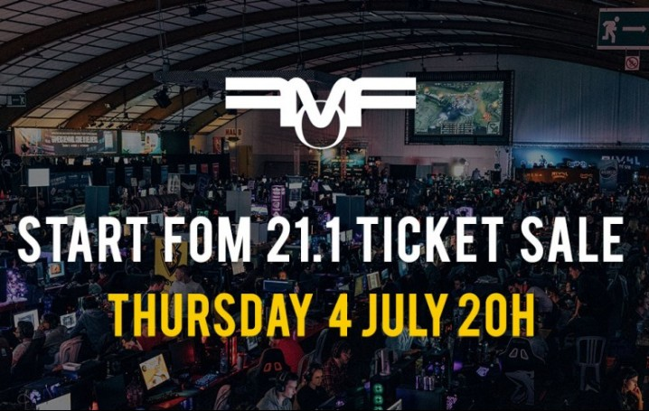 Ticket sale Frag-o-Matic 21.1