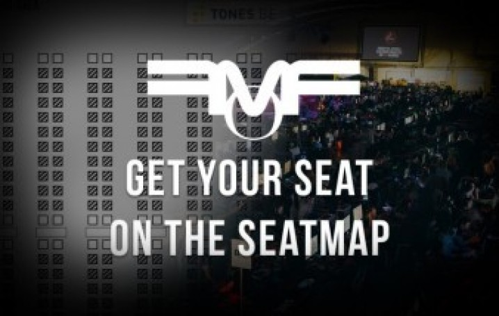 Reserve your place on the seatmap