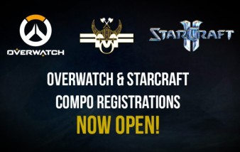 Overwatch and StarCraft registrations open!