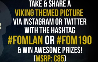 Take a viking themed picture & win!