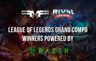 RIV4L LAN TOUR League of legends winners