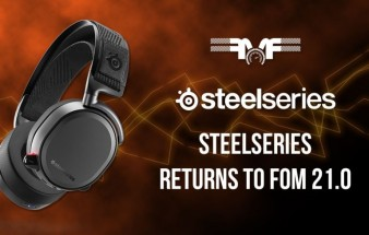 SteelSeries returns to FoM 21.0!