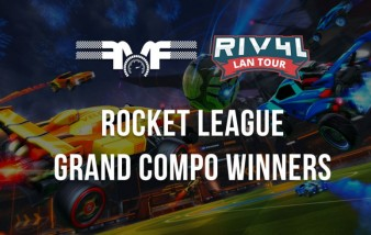 RIV4L LAN TOUR Rocket League 3v3 winners