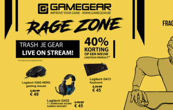 Trash your gear @ Gamegear Rage Zone
