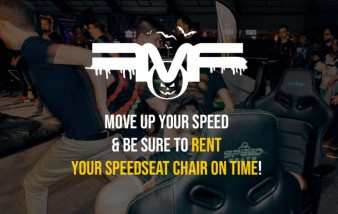 Limit amount Speedseats chairs available!