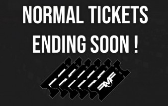 End of normal ticket wave
